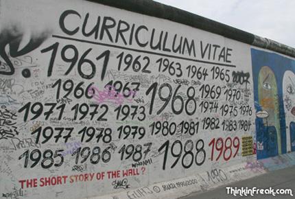El Muro, también llamado \u201cLa Barrera Antifacista\u201d o \u201cLa Franja de la  Muerte\u201d, según el lado desde el que se lo mirara, fue además un extenso  lienzo donde
