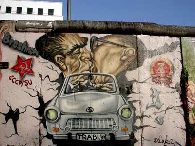 Graffitis muro de Berlin