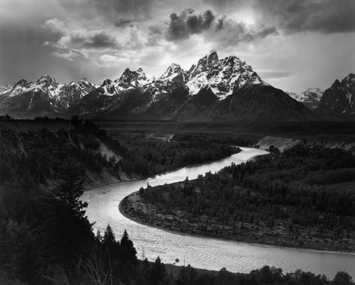 Snake River in the Teton Range