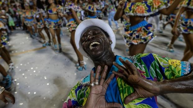 BRAZIL-CARNAVAL-REHEARSAL-SAMBA-UNIDOS DE VILA ISABEL